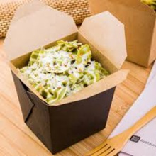 Takeaway Chinese Noodles Rice Hot Food Paper Box