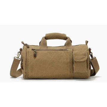 Large Canvas Duffle Trolley Luggage Organizer Bag
