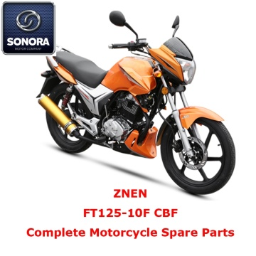 ZNEN FT125-10F CBF Complete Motorcycle Spare Part