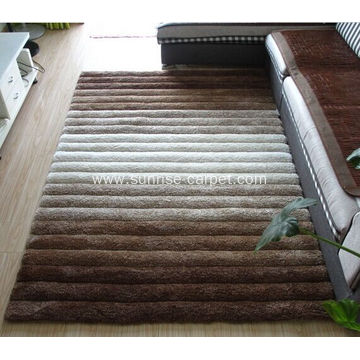 Polyester Microfiber Yarn 3D Design Carpet