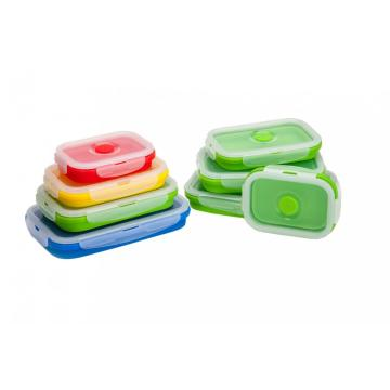 FDA Approved Food Storage Silicone Bento Boxes