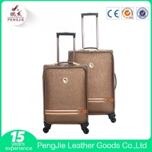 ODM for Pu Travel Luggage Bags 2017 popular new design cheap luggage supply to Rwanda Supplier