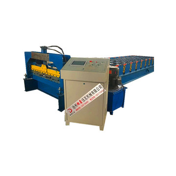 Color Steel roofing Wall Panels Roll Forming Machine