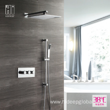 HIDEEP Wall Mounted Two Function Thermostatic Shower Faucet