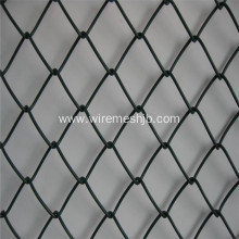 Galvanized PVC-coated Chain Link Fence