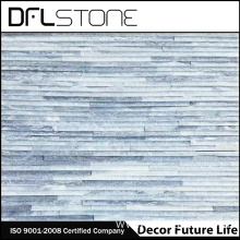 Supply for Water Stone Panels Grey Quartz Water Flow Natural Stone Paneling export to France Manufacturers