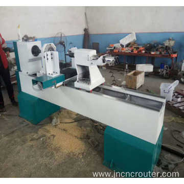auto cnc wood copy lathe machine