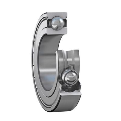 Iron Shielded Deep Groove Ball Bearing