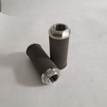 Hydraulic Suction Oil Wire Mesh Filter Element WU-250X80F-J