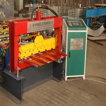 Popular trapezoidal roll forming machine