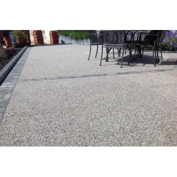 Ecological permeable concrete floor