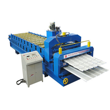 Low MOQ for for Roman Glazed Tile Double Deck Roll Forming Machine Ibr And Glazed Double Layer Forming Machine supply to Belize Importers