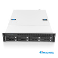 2U rack server chassis design