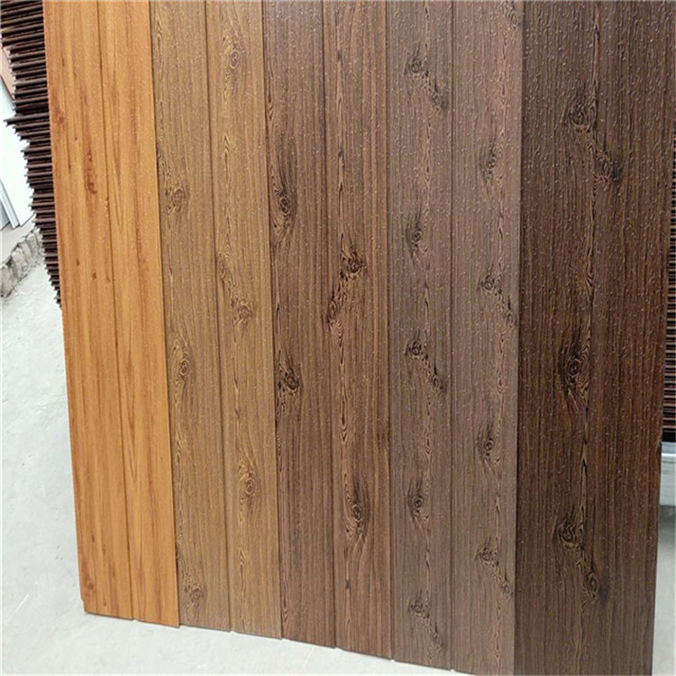 faux wood wall paneling