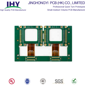 OEM Factory 4 Layers Rigid Flex PCB with Gold Finger