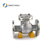 "JKTLPC005 loaded lift stainless steel non return 3"" check valve"