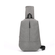 Leisure Waterproof Outdoor Men's Sling Gray Chest Bag
