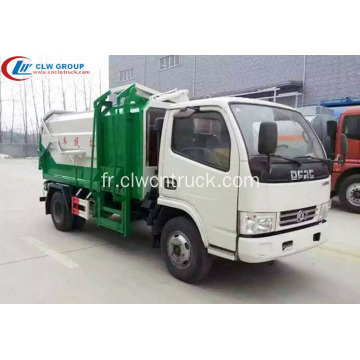 Vente chaude Dongfeng 4cbm multi side loader camion