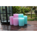 big size colorful pillar candle for wedding favor