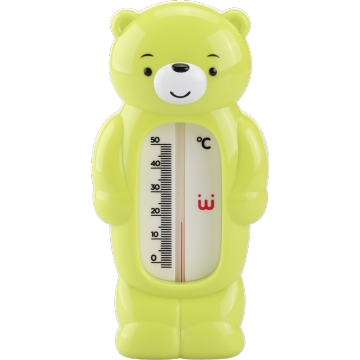 Cartoon Bear Baby Accessory Bathing Water Thermometer