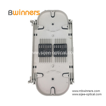 Ftth 24 Core Optical Fiber Optic Splice Tray