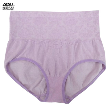 Women Fashion Knitted Underwear Seamless High Waist Panties