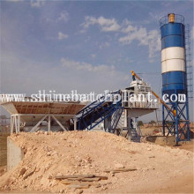 OEM for Portable Concrete Plant 50 Wet Mobile Concrete Batching Plants supply to Uganda Factory