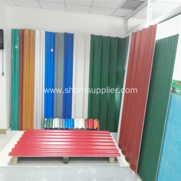 PET Membrane MgO Roofing Sheets For Warehouse