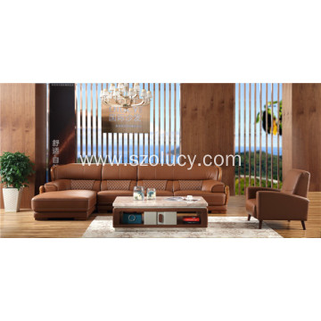 Best Quality for Genuine Leather Sofa Big Leather Comfortable Sofa supply to Germany Exporter