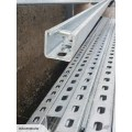 c type steel channel support system
