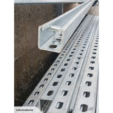 Slotted Galvanized stainless steel u channel Cold Bend u channel steel price