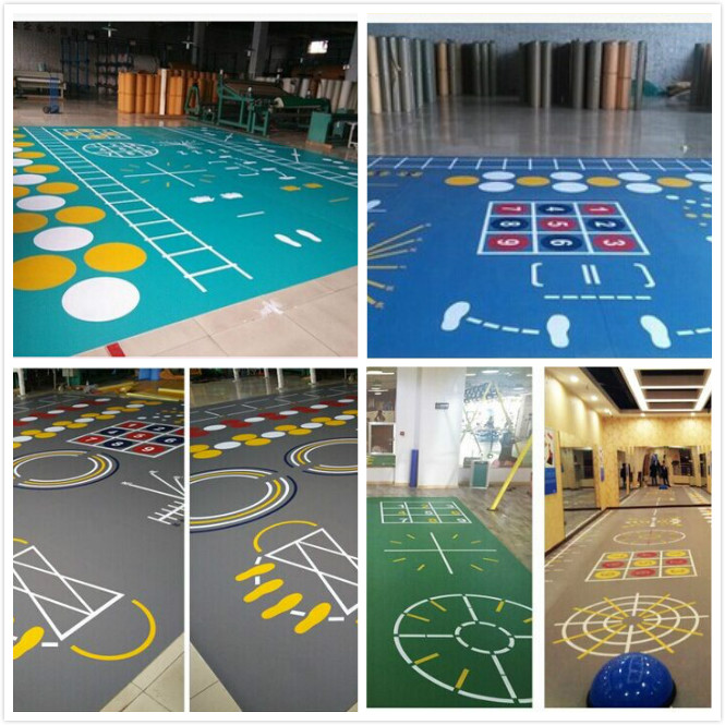 gym PVC function floor