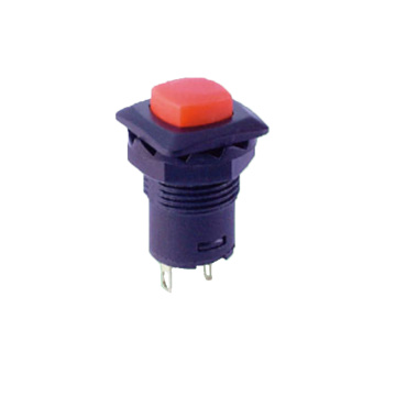 Electronic Momentary Locking Push Button Switch