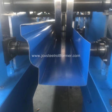 K Rain gutter steel roll forming machine
