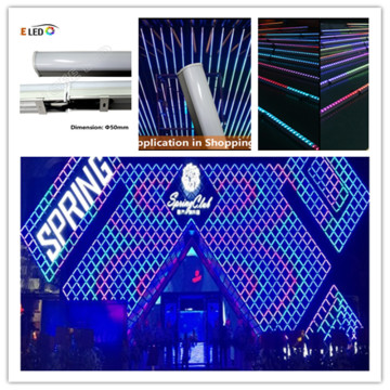 Square Led Wall Wash Bar for Mall Decoration