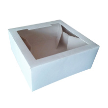China Gold Supplier for Disposable Food Box Cake Display Paper Bakery Window Box supply to Cocos (Keeling) Islands Wholesale