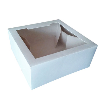 Fast Delivery for Food Paper Box Cake Display Paper Bakery Window Box supply to Latvia Wholesale