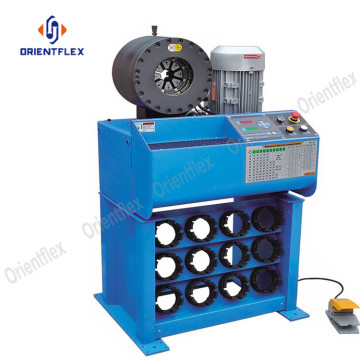 Easy operation hydraulic hoses processing machine HT-91H-6