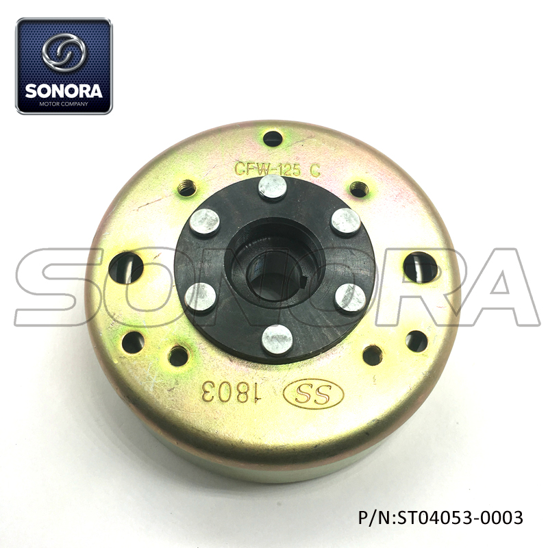 ZNEN GY6 125 12 Poles Fly wheel (P/N:ST04053-0003) Top Quality