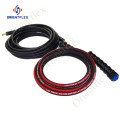 rubber pressure water  cleaning hose