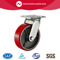 4'' Swivel Heavy Duty PU Industrial Caster with Iron Core
