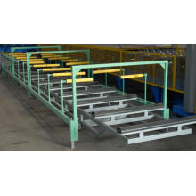 Good Quality for Roll Forming Machine electric automatic pallet stacker supply to Bouvet Island Manufacturers