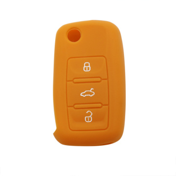Best Quality for Volkswagen Silicone Key Cover Cool new VW model car key cover supply to Japan Exporter
