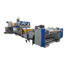 High speed flow casting film production line