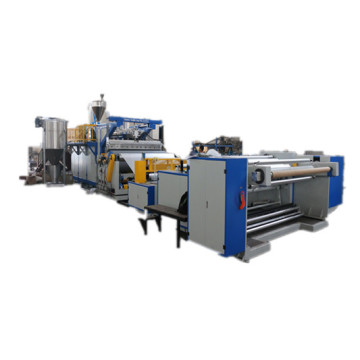 B type flow casting film production line