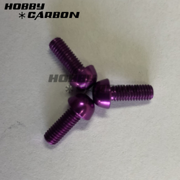 All Kinds of Customized Anodized Aluminum Color Screw