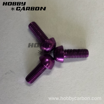 Ogni tipu di Screw Customized Aluminum Anodized Colour