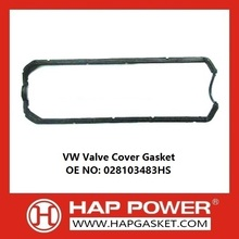 High Efficiency Factory for China Durable Valve Cover Gasket, Rubber Valve Cover Gasket, Wear Resistant Valve Cover Gasket Supplier VW valve cover gasket 028103483HS export to Barbados Supplier