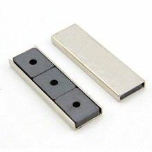 China for Square Magnetic Separator Grid Super Strong Ndfeb Ferrite Channel Magnet supply to Maldives Exporter
