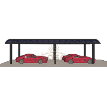 Used CarCarport With Arched Roof And Solid Polycarbonate